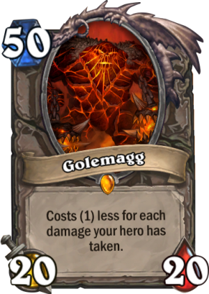 Golemagg Card