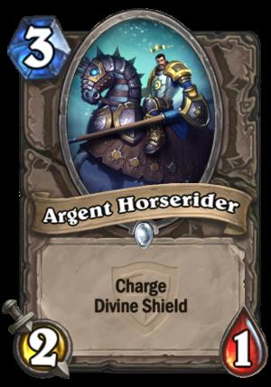 Argent Horserider Card