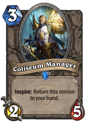 Coliseum Manager Card
