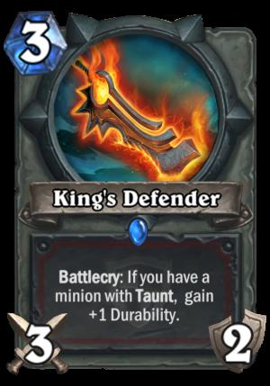 King's Defender Card