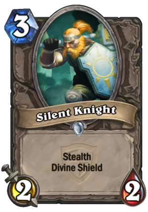 Silent Knight Card