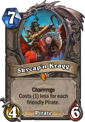 Skycap'n Kragg Card