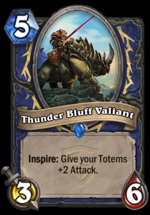 Thunder Bluff Valiant Card