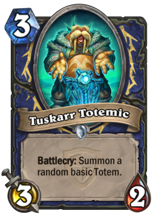 Tuskarr Totemic Card