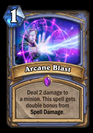 Arcane Blast Card