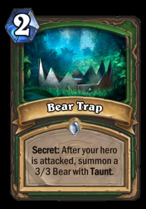 Bear Trap Card