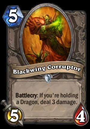 Blackwing Corruptor Card