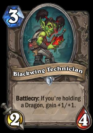 Blackwing Technician Card