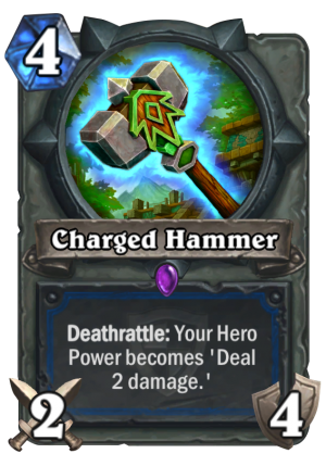 Charged Hammer Card