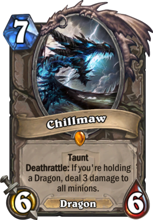Chillmaw Card