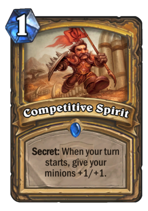 Competitive Spirit Card