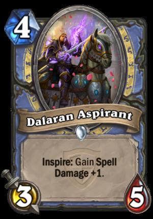 Dalaran Aspirant Card