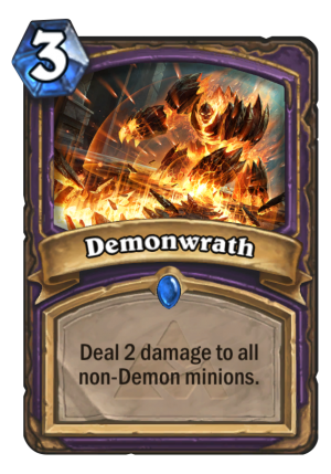 Demonwrath Card