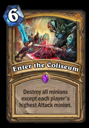 Enter the Coliseum Card