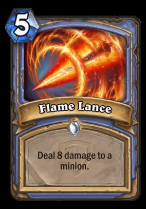 Flame Lance Card