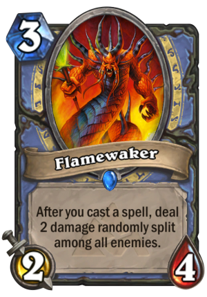 Flamewaker Card