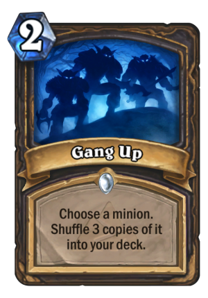 Gang Up Card