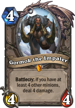 Gormok the Impaler Card