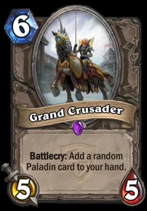Grand Crusader Card