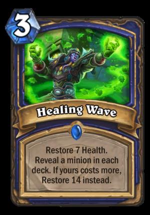 Healing Wave Card