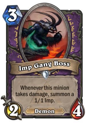 Imp Gang Boss Card