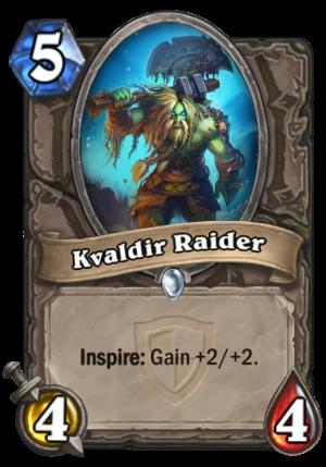 Kvaldir Raider Card
