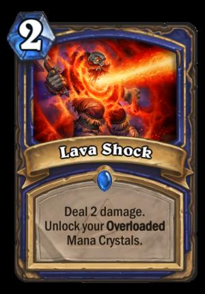 Lava Shock Card