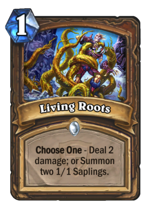 Living Roots Card
