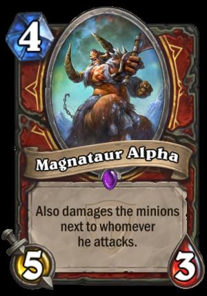 Magnataur Alpha Card