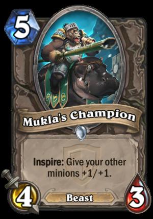 Mukla's Champion Card