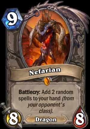 Nefarian Card