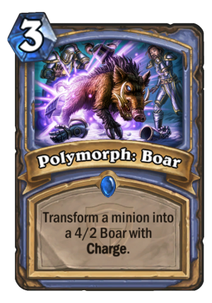 Polymorph: Boar Card