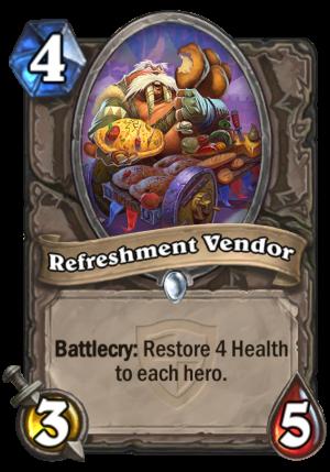 Refreshment Vendor Card