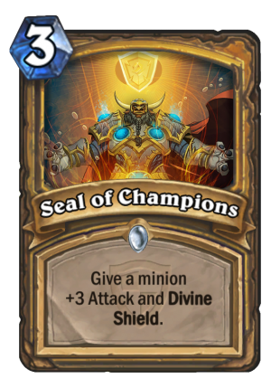 Seal of Champions Card