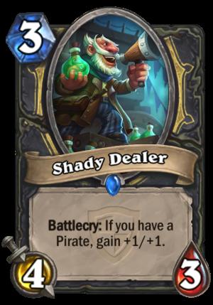 Shady Dealer Card