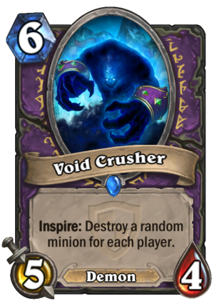 Void Crusher Card
