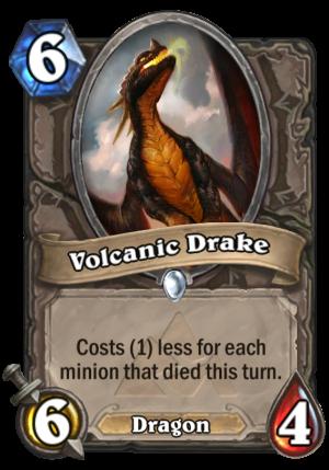 Volcanic Drake Card