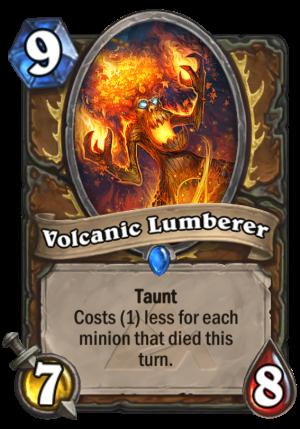 Volcanic Lumberer Card