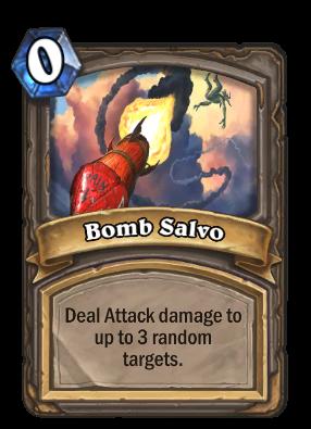 Bomb Salvo Card