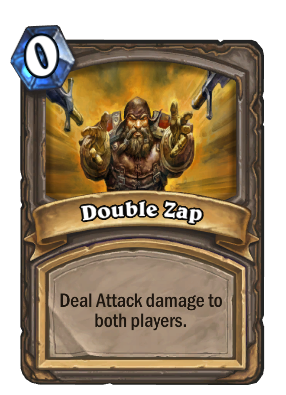 Double Zap Card