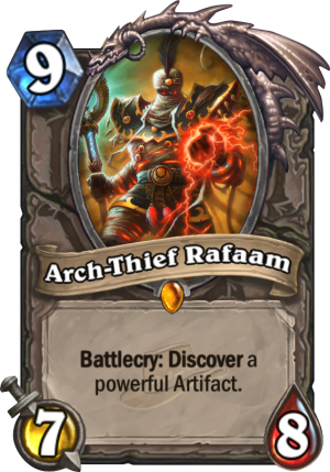 Arch-Thief Rafaam Card