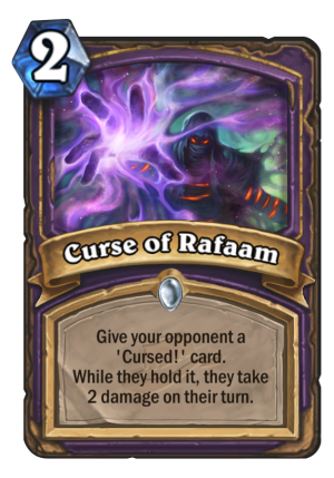 Curse of Rafaam Card