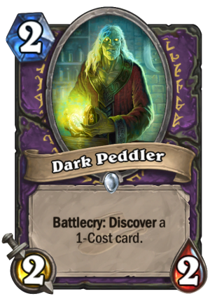 Dark Peddler Card