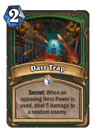 Dart Trap Card