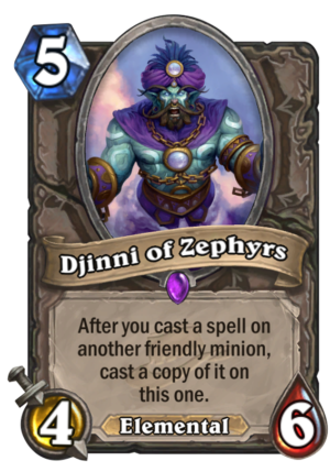 Djinni of Zephyrs Card