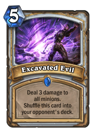 Excavated Evil Card