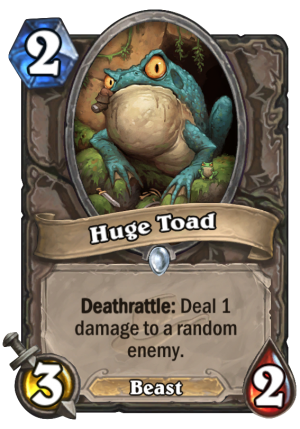 Huge Toad Card