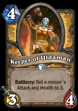 Keeper of Uldaman Card