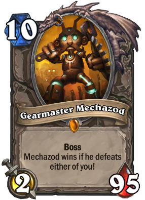 Gearmaster Mechazod Card