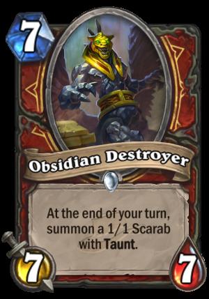 Obsidian Destroyer Card